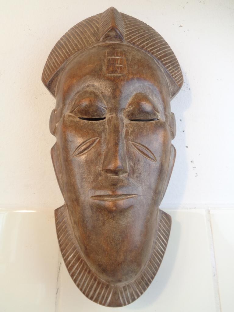 Baule gezichtsmasker 1920