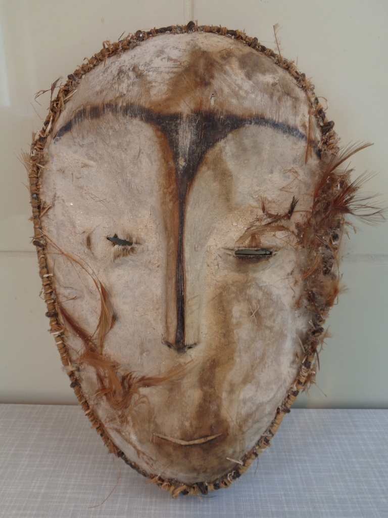 Fang masker, Gabon