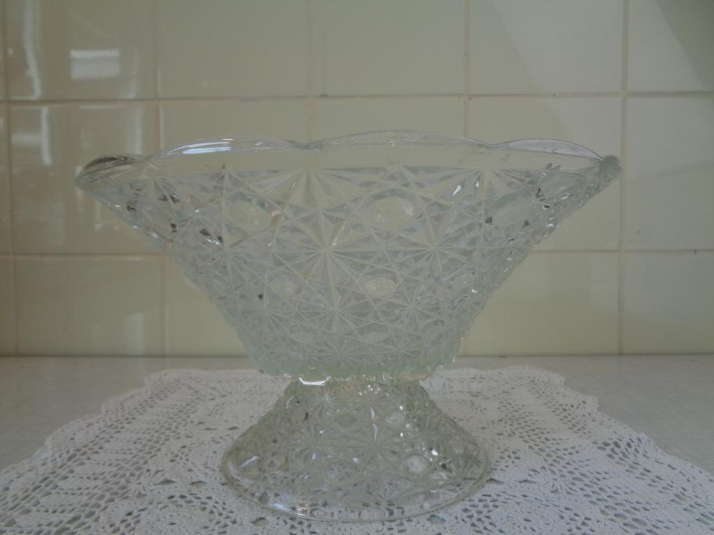Glazen schaal 1950