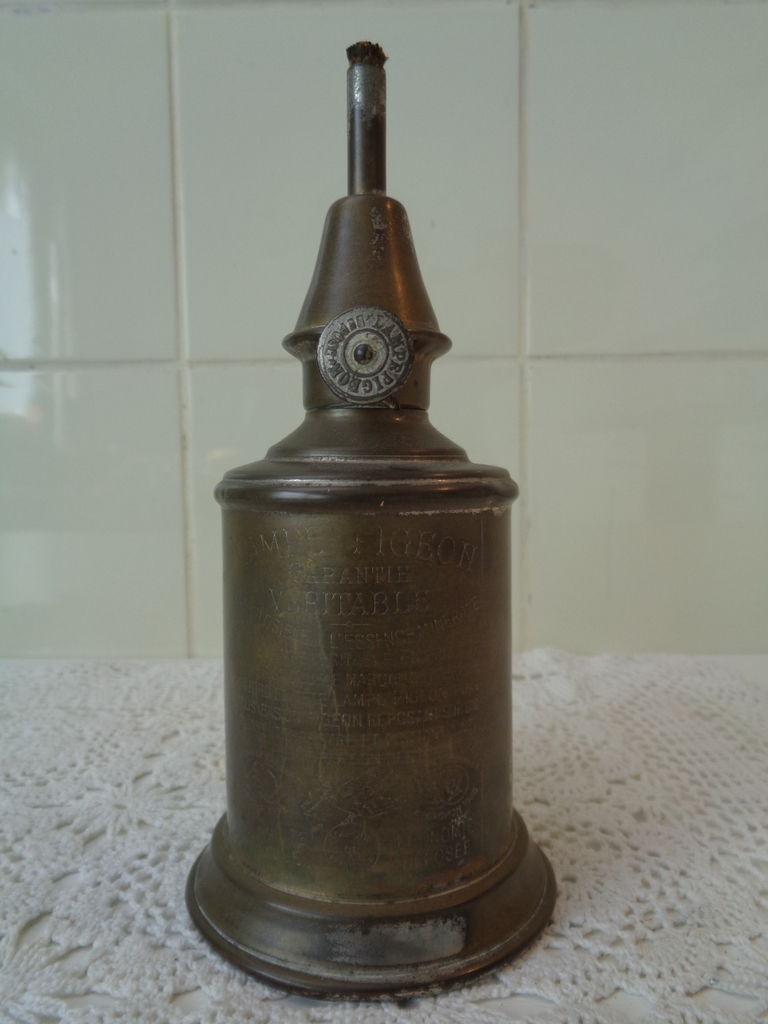 Franse olielamp - Lampe Pigeon