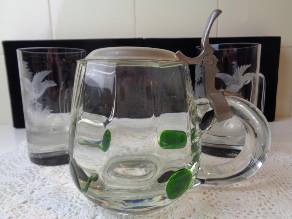 Moser - 3 Bierglazen voor dames