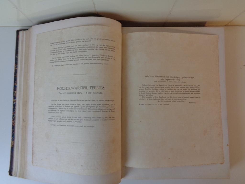 """""""1813-1815 Gëillustreerde geschiedenis van den vrijheidsoorlog"""""""