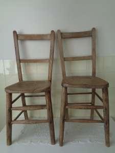 Antieke stoelen boerderij