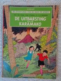 Hergé De avonturen van Jo Suus en Jokko 1e druk 1952