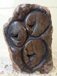 Granieten beeld vruchtbaarheid DRC
