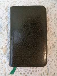 Antiek boekje Petit manuel du Chrétien uit 1848