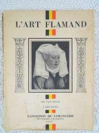 Boek L Art Flamand 1935