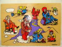 Antieke puzzel Simplex Toys