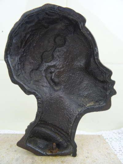 Antiek Afrikaans beeld vrouw