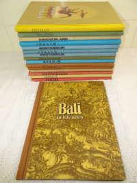 Antieke serie plaatjesboeken Douwe Egberts