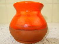 Elegante aardewerk vaas