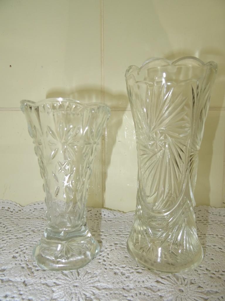 Wonderlijk Set antieke glazen vaasjes - Curiosa en Kunst.nl RO-93