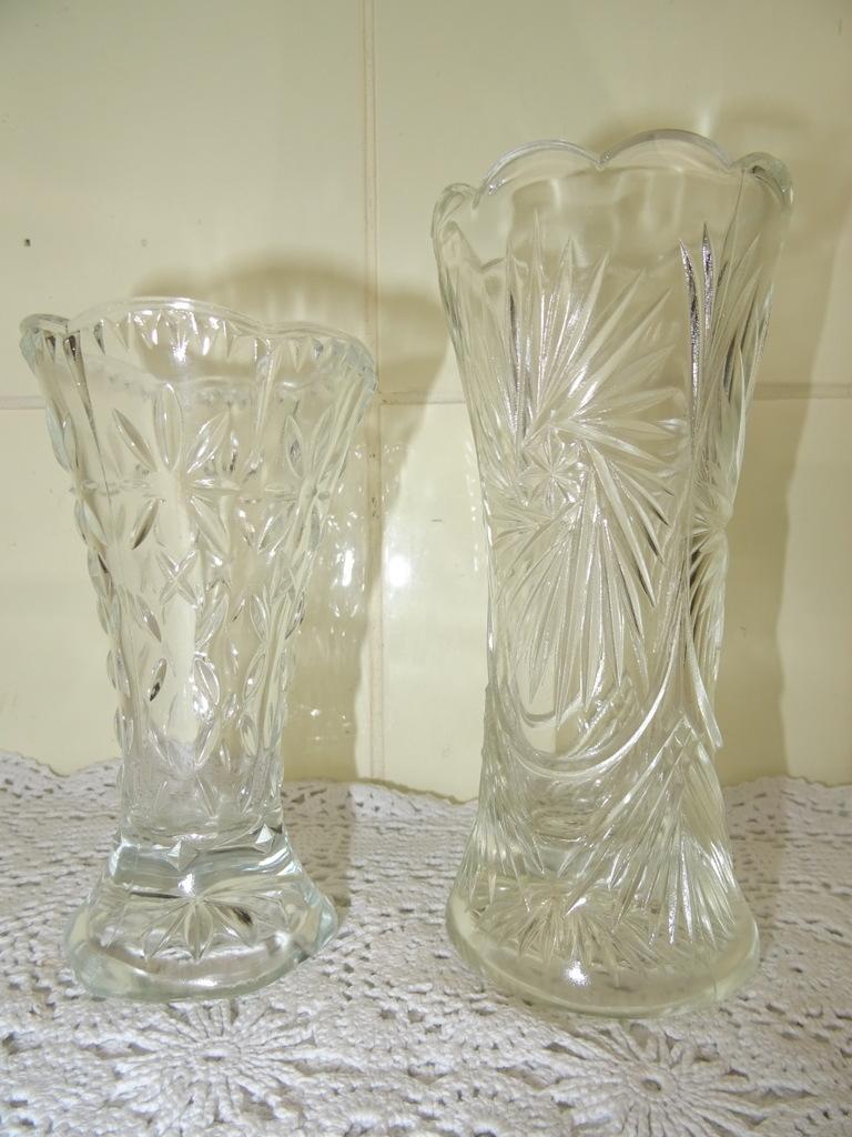 Betere Set antieke glazen vaasjes - Curiosa en Kunst.nl YL-46