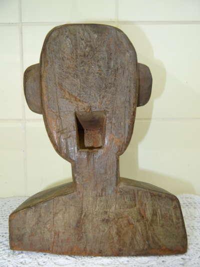 Antiek houten Voodoo beeld Filipijnen