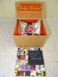 Andy Warhol Flowers dameshorloge