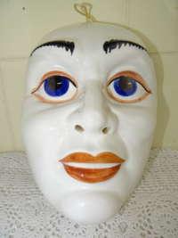 Prachtig porseleinen masker