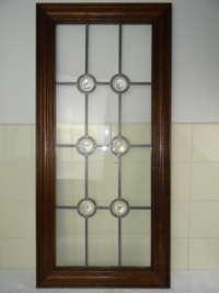 Antiek glas in lood