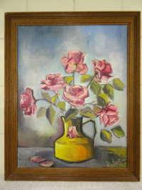 Stilleven met rozen Jo Baillieux