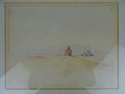 Aquarel Piet van den Boog 1979
