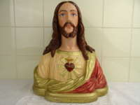 Antiek borstbeeld Jezus Jean Carli