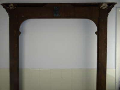 Enorme antieke lijst 146 bij 220 cm