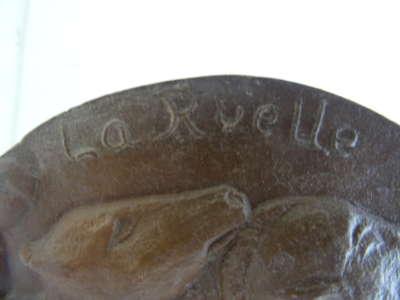Aardewerk plaquette La Ruelle Perdue