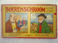Antiek gezelschapsspel Boerenschroom