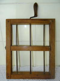 Antiek houten verband rooster