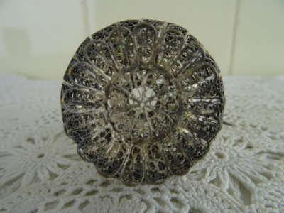 Aluminium miniatuur karaf pauw