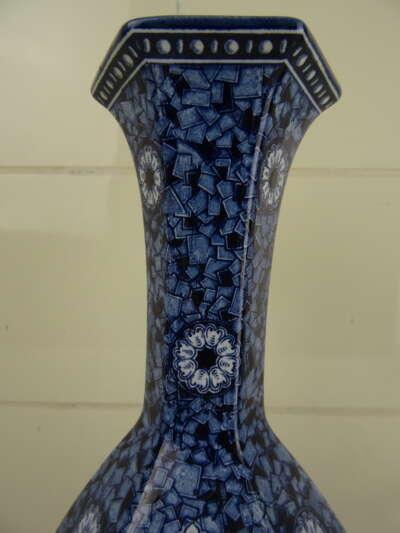 Antieke aardewerk vaas Petrus Regout