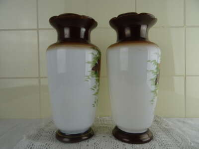 Antieke glazen vazen
