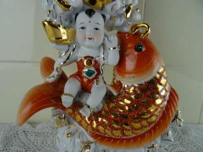 Antiek Chinees geluksbeeld
