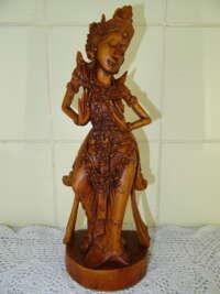 Antiek houten beeld India