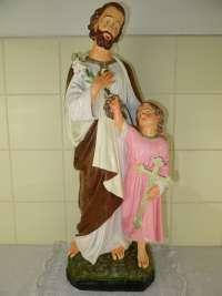 Antiek beeld Heilige Jozef