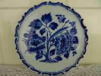 Delfts blauw bordje De Porceleyne Fles