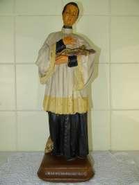 Antiek beeld Aloysius van Gonzaga
