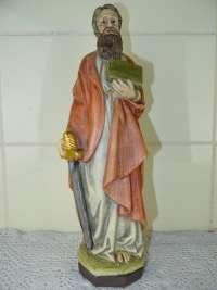 Antiek beeld Heilige Paulus