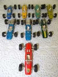Collectie antieke Penny auto's
