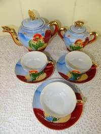 Antiek theeservies uit Japan