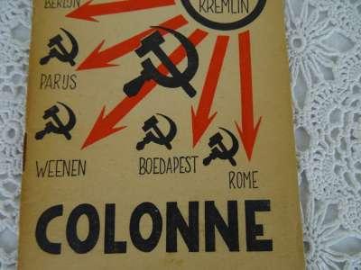 Anti Communistisch boekje Vijfde colonne