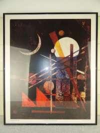 Wasilij Kandinsky Falce print in lijst