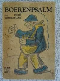 Boerenpsalm door Felix Timmermans