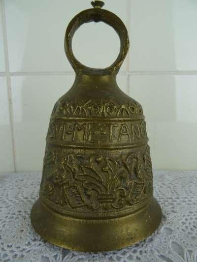 Antieke bronzen kloosterbel