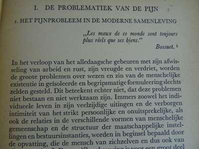 Over de pijn door Prof. Dr. F. J. J. Buytendijk