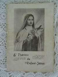 Antiek boekje Ste Thérese de l'Enfant Jésus