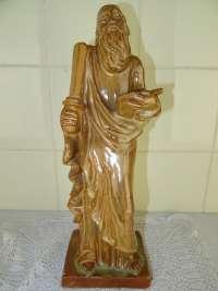 Antiek aardewerk beeld Mozes