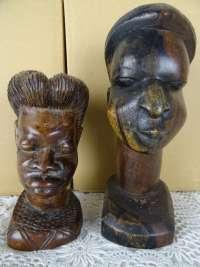 Afrikaanse ebbenhouten beelden
