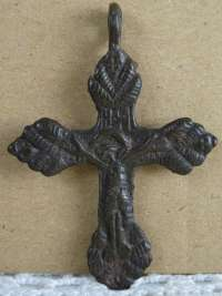 Bodemvondst Crucifix hanger